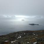 James Clark Ross in the mist